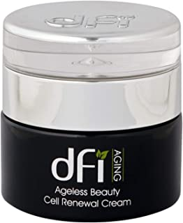 DFI Aging Ageless Beauty Cell Renewal Cream for Face and Neck - Rejuvenating Facial Serum to Promote the Appearance of Tight, Firm Skin - For Daily Use - All Skin Types 1.7 oz