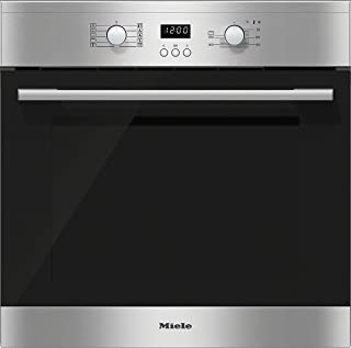 Miele H 2161-1 B - Horno (Medium (45-75 l total capacity), 56L, 3500W, Integrado, Acero inoxidable, Botones, Giratorio)