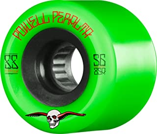 Powell Peralta G-Slides Green / Black Skateboard Wheels - 56mm 85a (Set of 4)