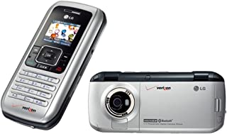 Verizon LG VX9900 enV No Contract 3G MP3 QWERTY Camera Cell Phone Silver