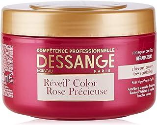 DESSANGE Réveil Color Rose Précieuse Masque Couleur Réparateur 250 ml