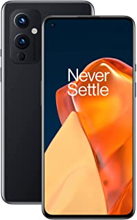 OnePlus 9 5G (UK) SIM-Free Smartphone with Hasselblad Camera for Mobile - Astral Black 8GB RAM 128GB - 2 Year Warranty
