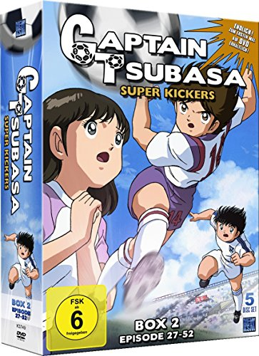 Captain Tsubasa: Super Kickers - Box 2: Episoden 27-52 (5 DVDs)