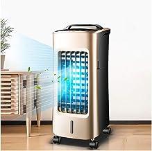 Calentadores del refrigerador de aire ventilador de aire acondicionado, calefacción y refrigeración del hogar ventilador sin aspas, calentador, purificador de aire, control remoto |12 Timer (tamaño: 2