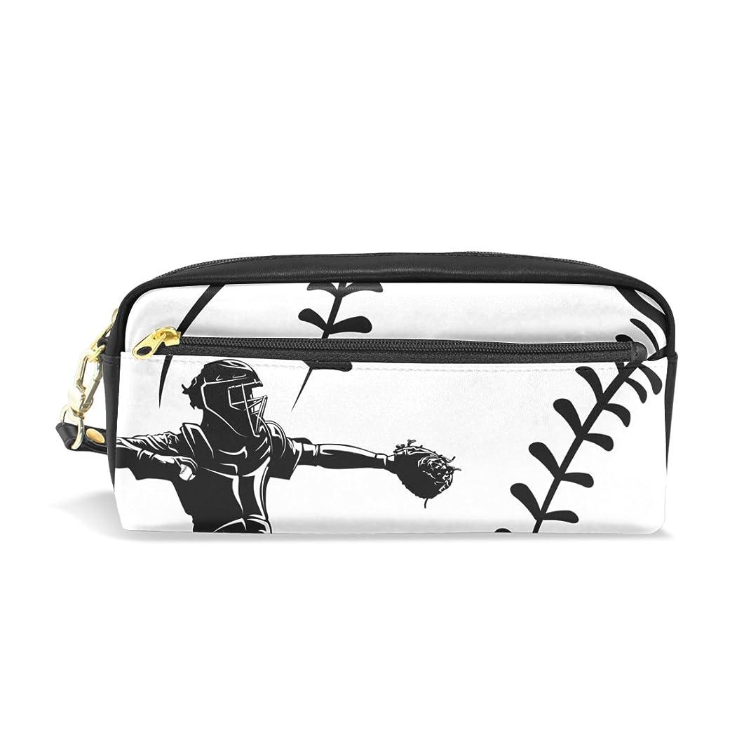 代理店品種ボアAOMOKI ペンケース 化粧ポーチ 小物入り 多機能 レディース 野球