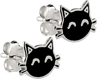 Amazon.es: Los Gatos Negros - Pendientes / Mujer: Joyería