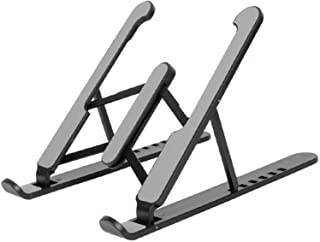 Laptop Stand, KIKIMO Laptop Holder Riser Computer Tablet Stand, Multi-Angles Adjustable Aluminum Ergonomic Foldable Portab...