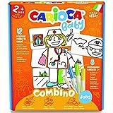 Carioca Baby Combino Puzzle coloreable, multicolor (42894) , color/modelo surtido