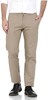 BASICS Tapered Fit Pumice Stone Cotton Trouser