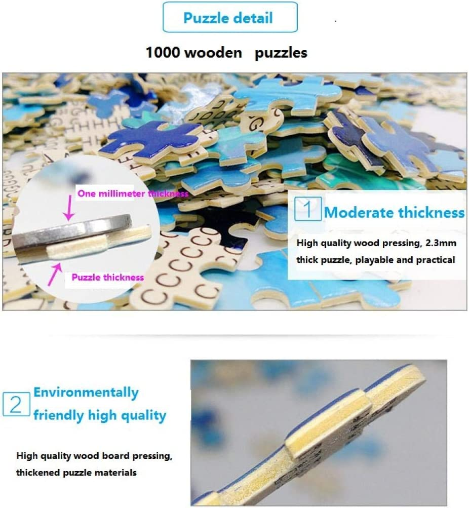 Volwassenen 2000 Stukjes-Dieren Wereld-Groot Puzzelspel, Interessant Speelgoed Gepersonaliseerd Geschenk, Hoogwaardig Diy Handgemaakt Speelgoed 2000 pcs