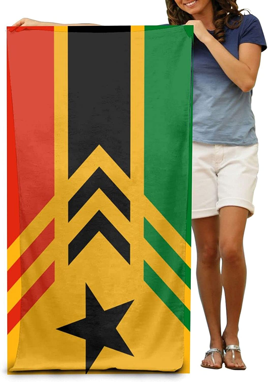 Flags of New product! New type Africa Beach Towel Ultra Portable Microfiber Max 59% OFF Sand Soft