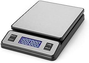 Orbegozo PC 3100 Balance de Cuisine Numérique Grande Capacité jusqu'à 40 kg Surface Inox Graduation 2 g Ecran LCD