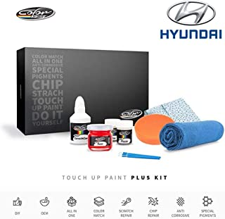 Color N Drive | Hyundai NEA - Acqua Minerale Blue/Blue Diamond Metallic Touch Up Paint | Compatible with All Hyundai Models | Paint Scratch, Chips Repair | OEM Quality | Exact Match | Plus