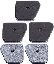 HIPA (Pack of 5) Air Filter for STIHL FS87 FC100 FC110 FC90 HL100 HL90 HT100 HT131 KM100 KM110 Trimmer