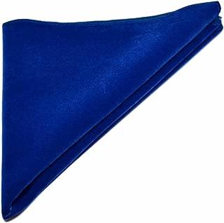 Fazzoletto tasca square fazzoletto blu scuro e arancio Paisley