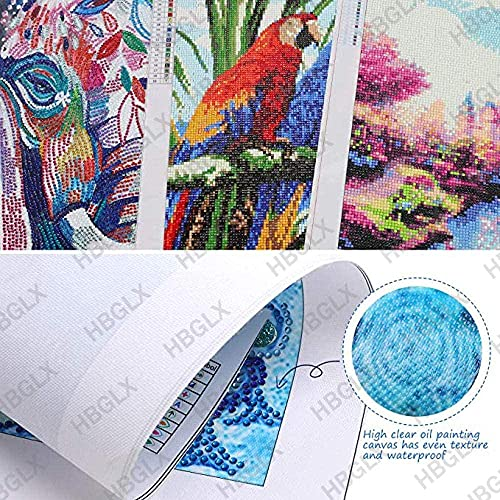 5D DIY Full Drill Round Diamond Painting Cross Stitch Embroidery Kits Craft Gift