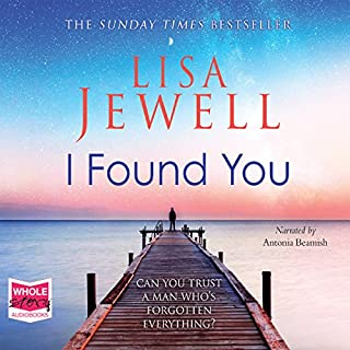 I Found You                   By:                                                                                                                                 Lisa Jewell                               Narrated by:                                                                                                                                 Antonia Beamish                      Length: 10 hrs and 29 mins     2,480 ratings     Overall 4.5