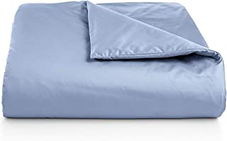 Charter Club Damask Solid 550 Thread Count Supima Cotton King Duvet Cover Horizon (Sky Blue)