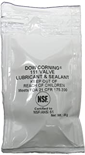 Dow Corning Molykote 111 Valve Silicone Lubricant & Sealant 6g Pillow Pack