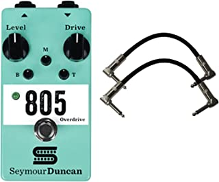 Seymour Duncan 805 Overdrive Stomp Box Guitar Effects Pedal w/2 Cables