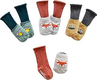 Baby Socks Anti Slip Non Skid Stocking Girls Boy Toddler Leg Warmers Cotton