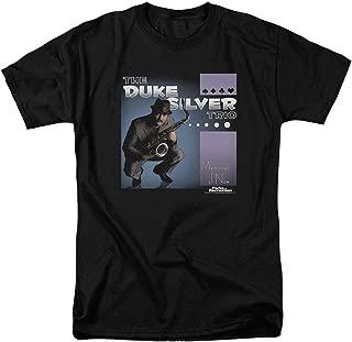Parks & Rec Duke Silver Trio Smooth Jazz T Shirt & Stickers