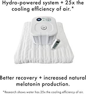 Chili Technology chiliPAD Cube 3.0 - ME and WE Zones - Cooling and Heating Mattress Pad - Individual Temperature Control, Great Sleep Enhancement, Wireless Remote Integration (Single (75