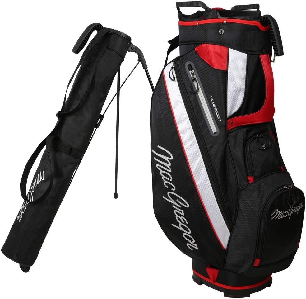 MacGregor Golf Tourney 2-in-1 Cart Dedication Bag Removable Carry with Dallas Mall Stan