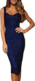 Best glitter bodycon midi dress Reviews