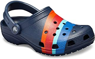 Men's and Women's Classic Graphic Clog | Comfort Slip On Casual Water Shoe | Lightweight