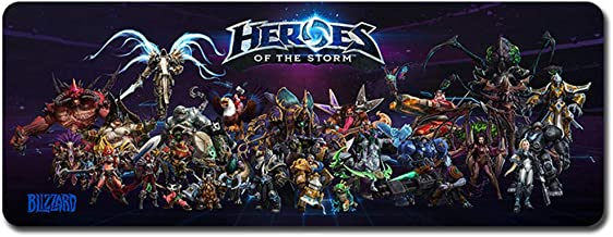 heroes of the storm desk mat