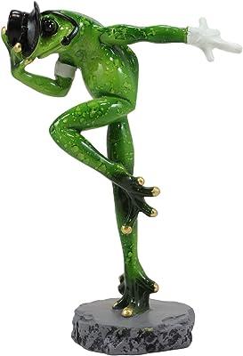 25Cmx4.5Cmx8Cm CHOUDOUFU Sculpture Statues Ornements /L/éopard Statue Figurine Moderne Abstrait Style G/éom/étrique R/ésine Panth/ère Animal Grand Ornement Accessoires De D/écoration De La Maison Or