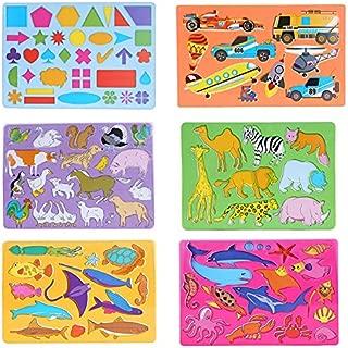 number stencils for preschoolers