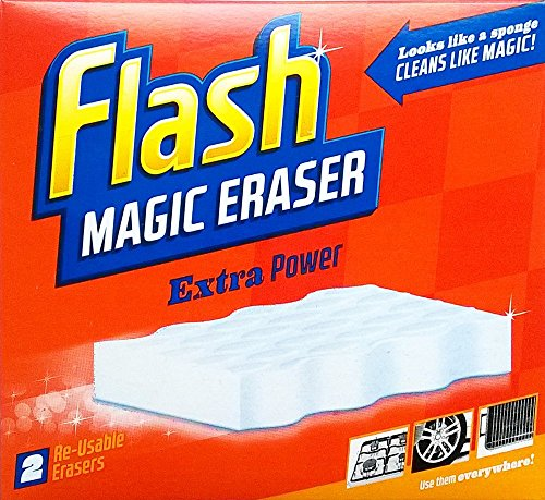 Flash Borrador mágico Extra Power - 1 x 2 reutilizables Borradores