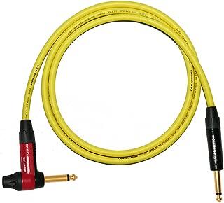 Shure LD Designacable 0,75 m, REAN, 4 polos, XLR peque/ño a jack acodado de 1//4 pulgadas Rocket y FreeBass Ashdon Cable de sonido para instrumentos Line 6 G50//G90