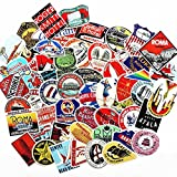 Blue Vessel 55pcs Retro Poster Koffer Gepäck Sticker Tasche Sticker Notebook Computer Skateboard Sticker Aufkleber