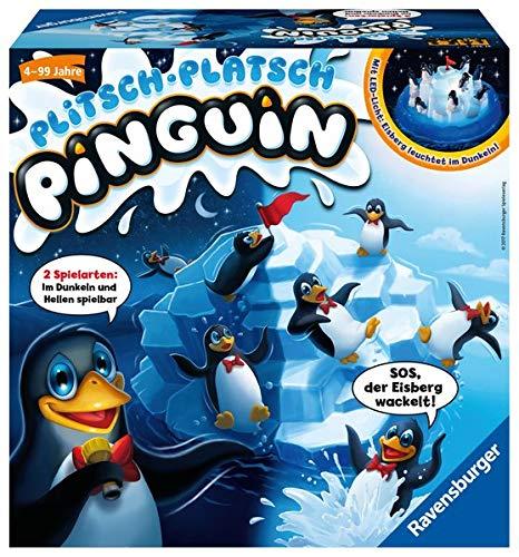 Ravensburger Kinderspiele 21325 - Plitsch - Platsch Pinguin