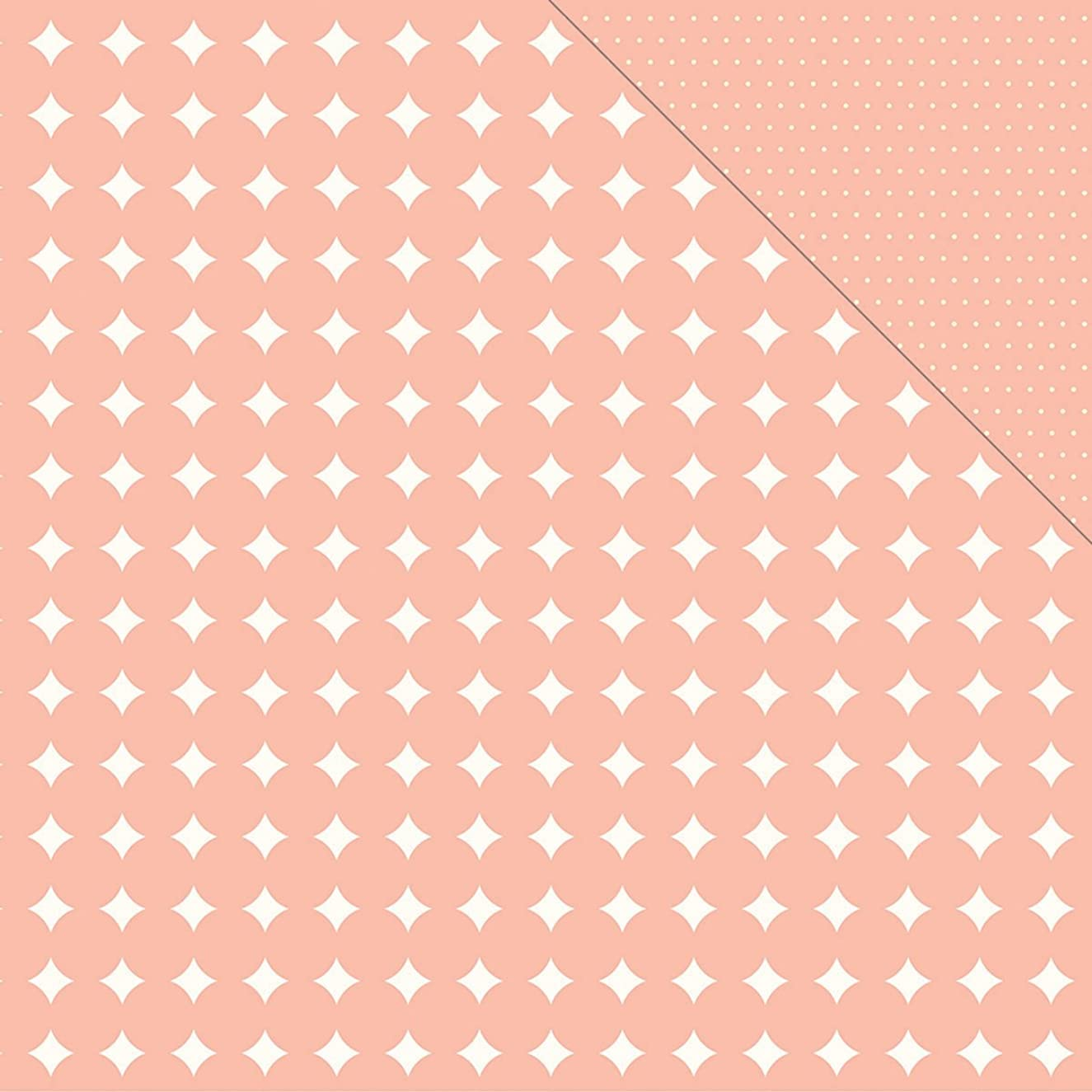American Crafts Cottage Living Double, Sided Cardstock, 25 Sheets, 12