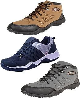 Earton Men Combo Pack of 3 Sport Running Shoes