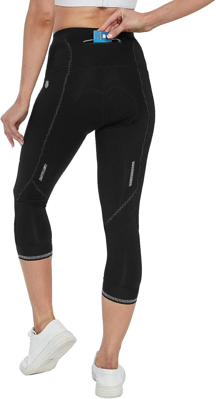 FitsT4 Outlet sale feature Women's 4D Padded Cycling Breathable Pants Bi Capris Bike unisex