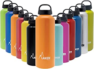 Laken Classic Botella de Agua Cantimplora de Aluminio con Tapón de Rosca y Boca Ancha
