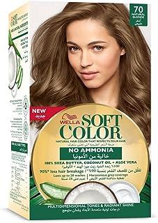 Wella No Ammonia Soft Hair Colour Kit, 70 Natural Blonde, 125 ml
