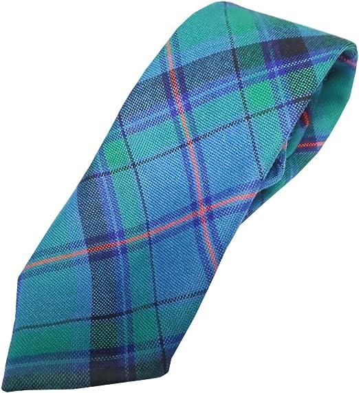 Boys All Wool Tie Woven And Made in Scotland in MacKinnon Modern Tartan