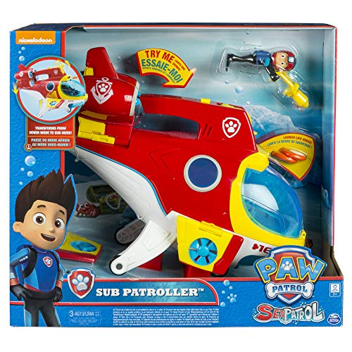 Bizak- Paw Patrol Subpatroller, Multicolor (61926745)
