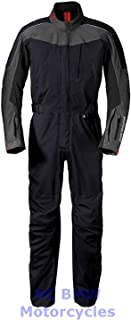 BMW Genuine Motorcycle Unisex CoverAll Rider's Riding Suit Black Size L
