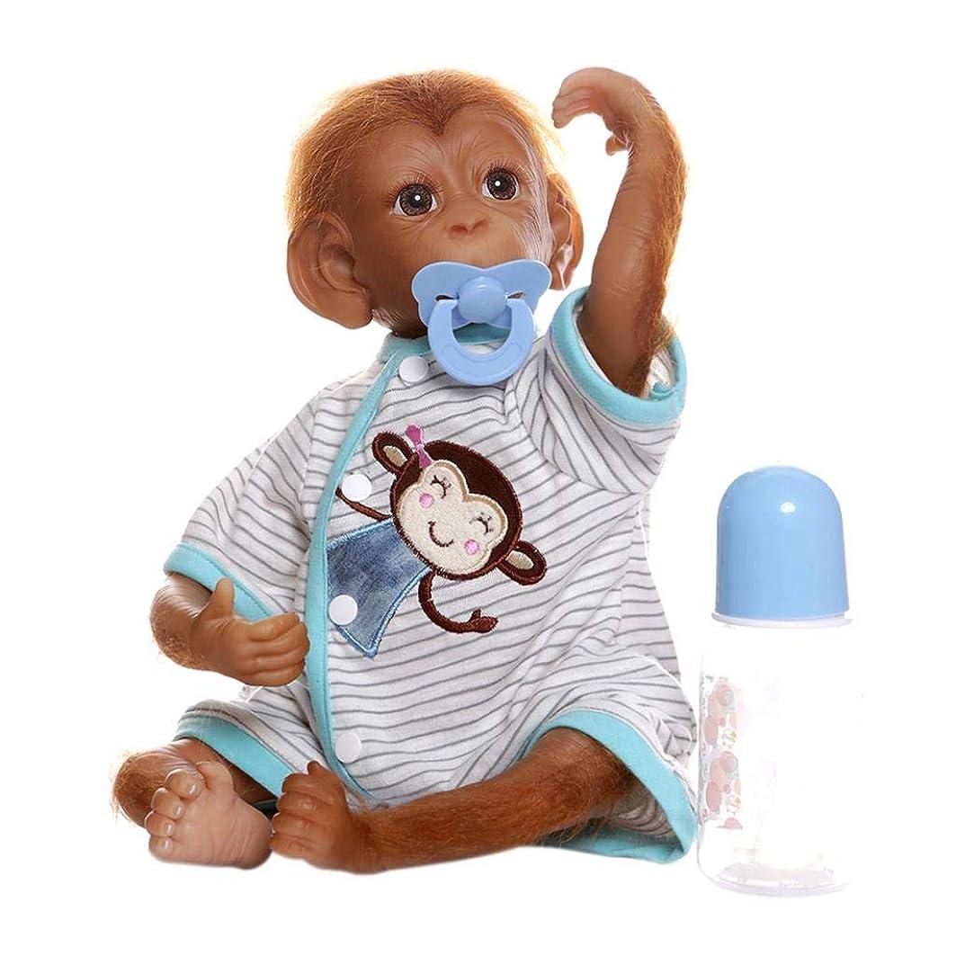 刈る研磨批評T TOOYFUL 生まれ変わった人形 リボーンドール 猿人形 猿ドール ベイビードール アクセサリー付き