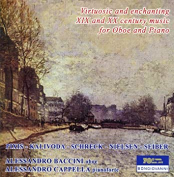 Virtuosic and enchanting XIX and XX century music for Oboe and Piano