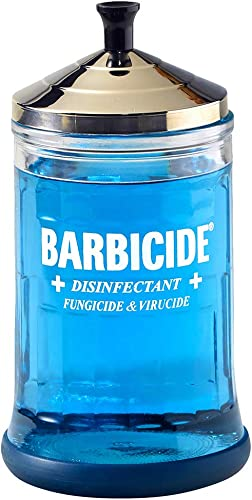 Barbicide Disinfectant Jar, Midsize, Original Version, 21 oz (12)