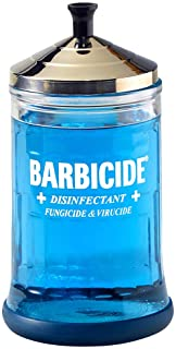 Barbicide Disinfectant Jar, Midsize, 21 ounce