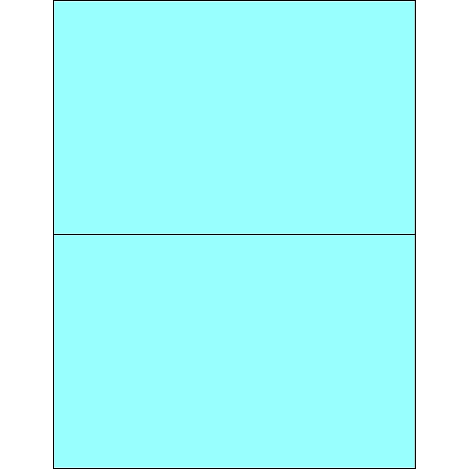 Tape Logic Free Shipping Cheap Bargain Gift TLLL184BE Rectangle Laser Labels 5 Kansas City Mall Pastel 8 x 2 1